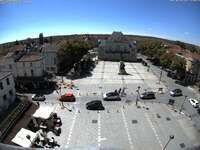 Place Aristide Briande from Le Marie