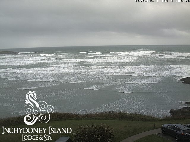 Inchydoney Island Lodge & Spa - Beach Cam