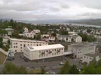 Overlooking Akureyri