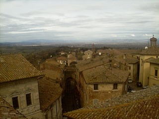 Rooftop View of Montepulciano