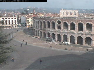 Piazza Bra & Arena (Webcam Offline)