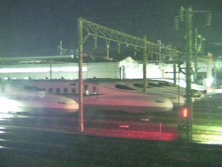 Shinkansen Bullet Train Siding