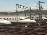 Shinkansen Bullet Train Siding