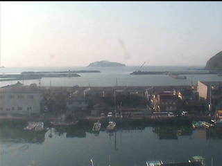 Mugi Harbour from Mugi Town Hall