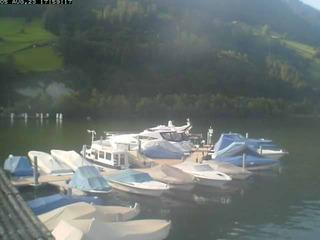 Meggen Harbour on Lake Lucerne