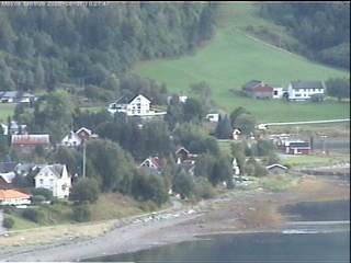 View from Jækta Fjordstue Mosvik